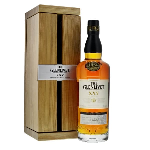 The Glenlivet 25 Years Single Malt Whisky 70cl