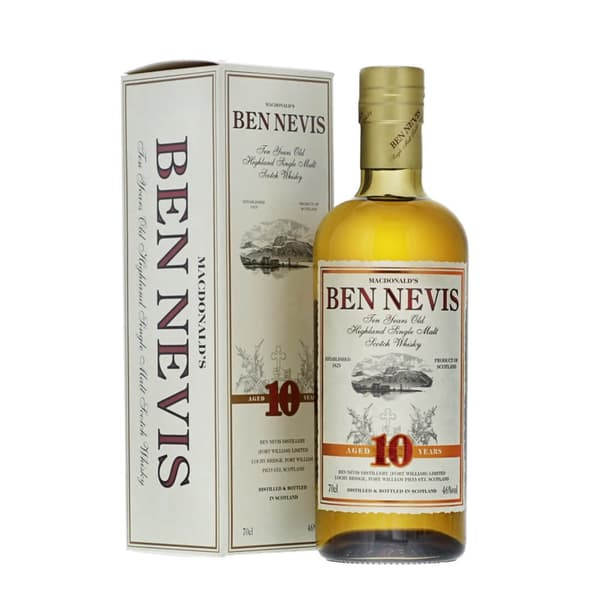 Ben Nevis 10 Years Single Malt Whisky 70cl