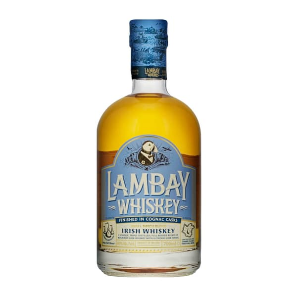 Lambay Small Batch Blend Irish Whiskey 70cl