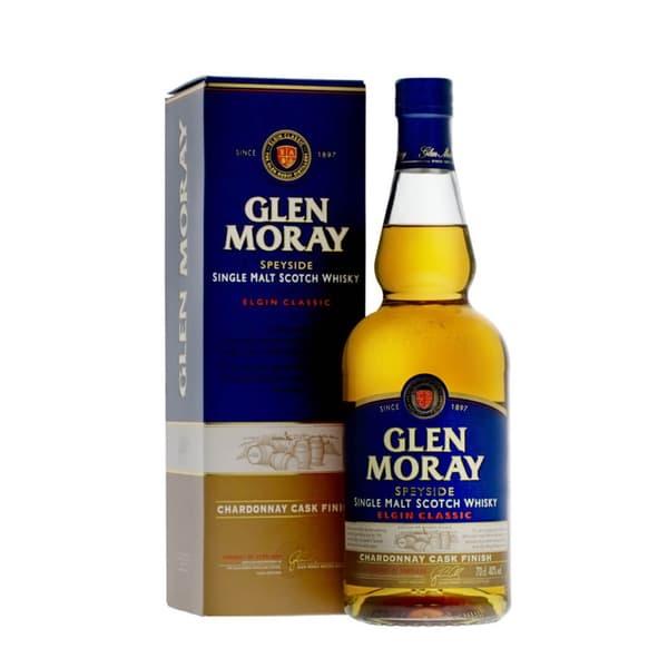 Glen Moray Elgin Classic Chardonnay Cask Single Malt Whisky 70cl