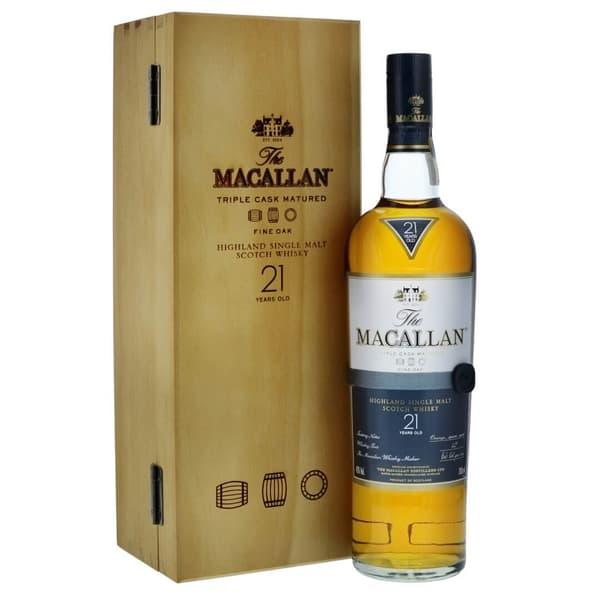 Macallan Fine Oak 21 Years Old in Holzkiste 70cl