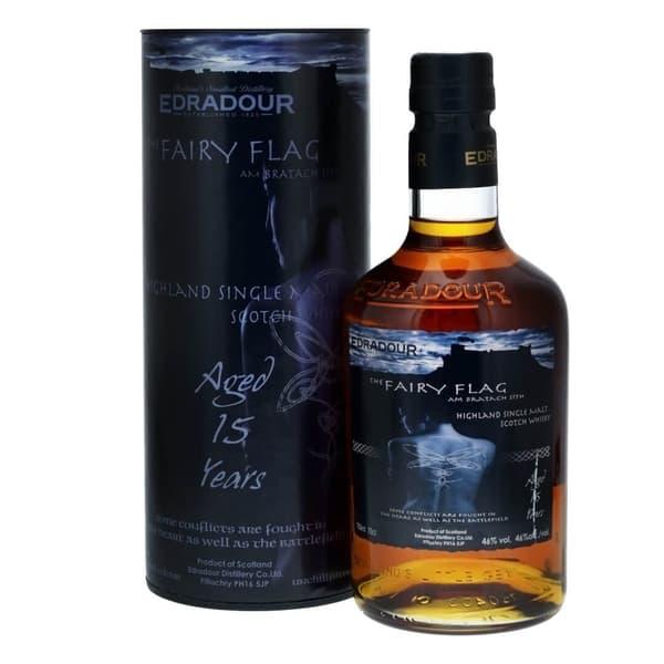 Edradour 15 Years The Fairy Flag Whisky 70cl