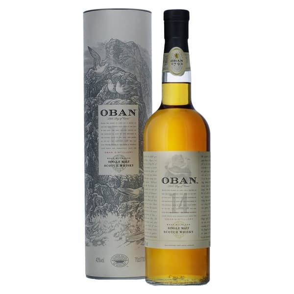 Oban 14 Years Single Malt Whisky 70cl