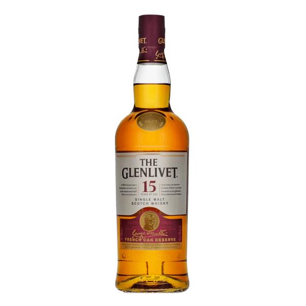 The Glenlivet French Oak Reserve 15 Years Single Malt Whisky 70cl