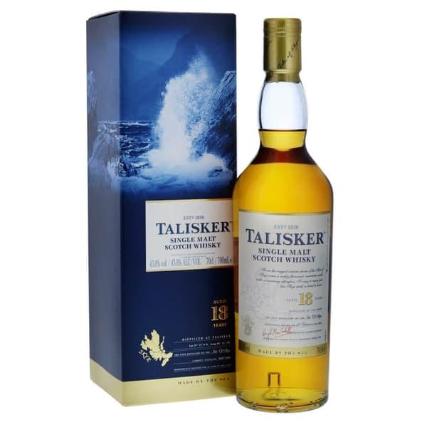 Talisker Single Malt Whisky 18 Years 70cl