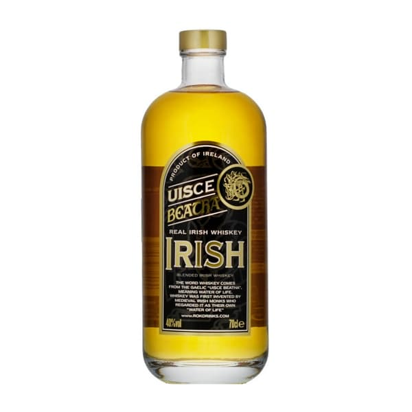 Uisce Beatha Blended Irish Whiskey 70cl