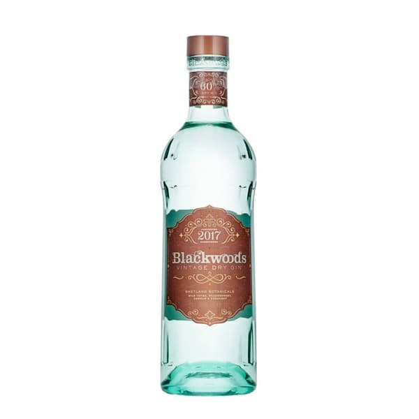 Blackwood's Vintage Dry Gin 60% 70cl