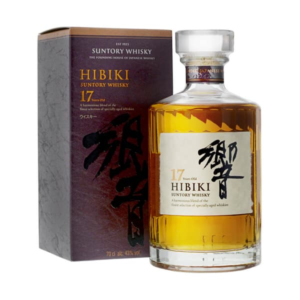 Hibiki 17 Years Japanese Blended Whisky 70cl