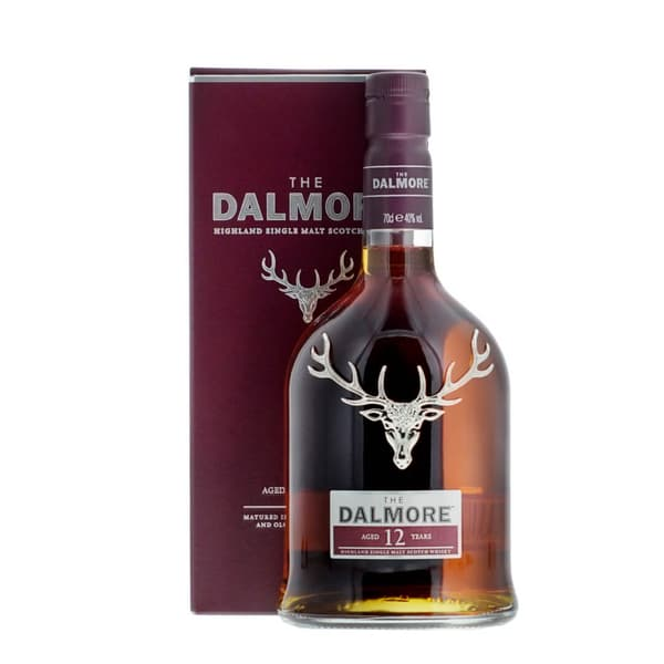 The Dalmore 12 Years Single Malt Whisky 70cl