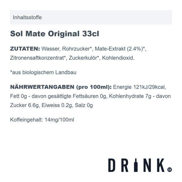 Sol Mate Original 33cl 4er Pack