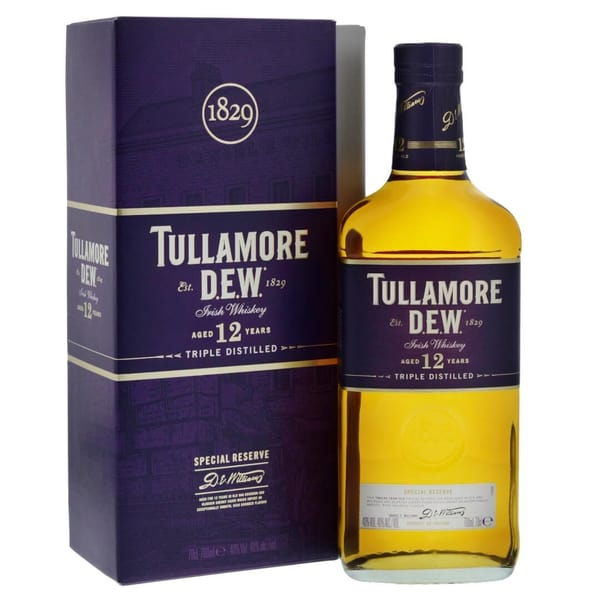 Tullamore DEW 12 Years Special Reserve Irish Whiskey 70cl