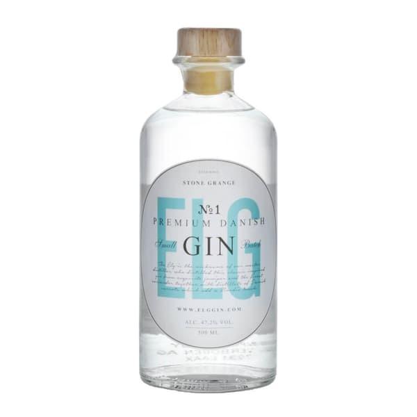 ELG Premium Danish Small Batch Gin No.1 50cl