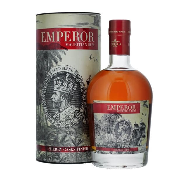 Emperor Mauritian Rum Aged Blend Sherry Finish 70cl