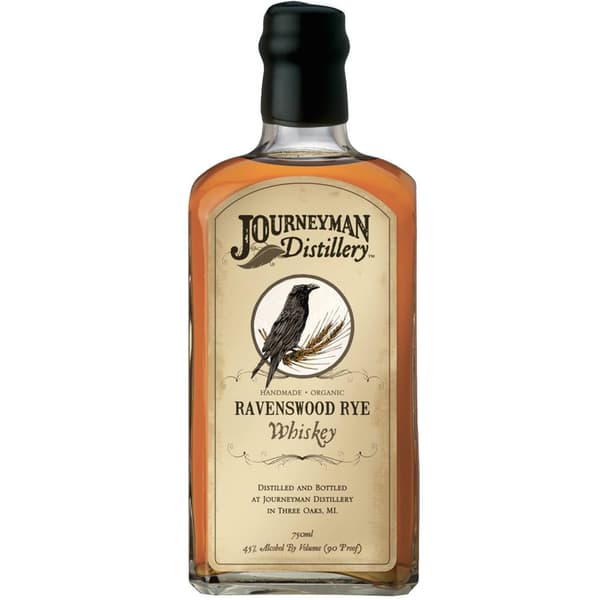Journeyman Ravenswood Small Batch Rye Whiskey 75cl
