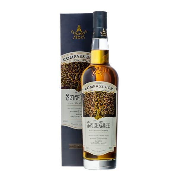 Compass Box The Spice Tree Blended Scotch Whisky 70cl