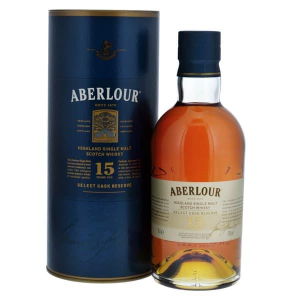 Aberlour 15 Years Select Cask Reserve Single Malt Whisky 70cl
