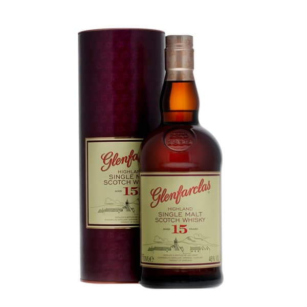 Glenfarclas 15 Years Single Malt Whisky 70cl