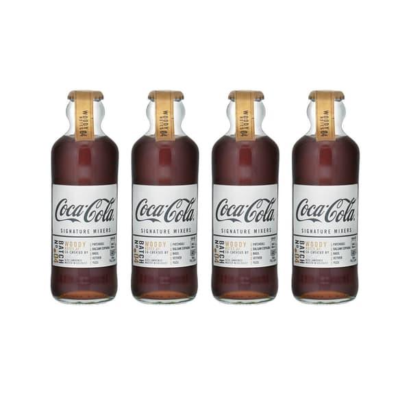 Coca-Cola Signature Mixers Woody 20cl, 4er-Pack