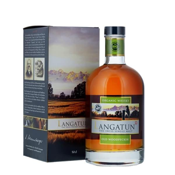 Langatun Old Woodpecker Whisky 50cl