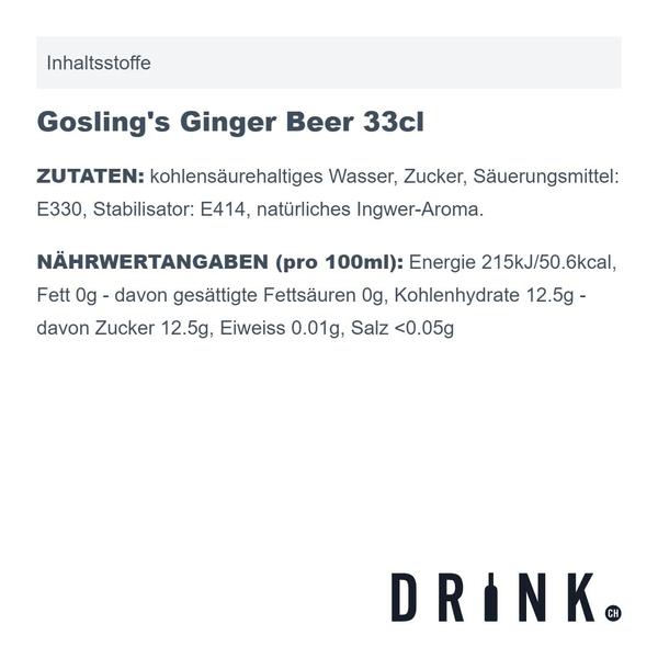 Gosling's Ginger Beer 33cl 6er Pack
