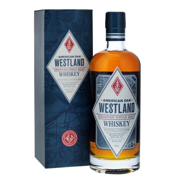 Westland American Oak Single Malt Whisky 70cl