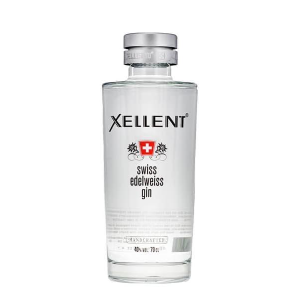 Xellent Swiss Edelweiss Gin 70cl