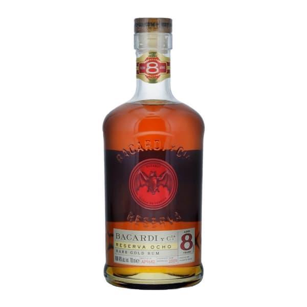 Bacardi Reserva Ocho 8 Años Rum 70cl
