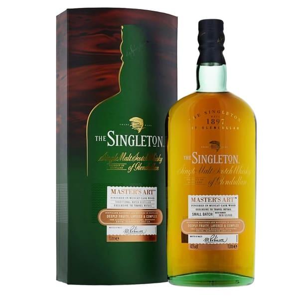 Singleton of Glendullan Master's Art Single Malt Whisky 100cl