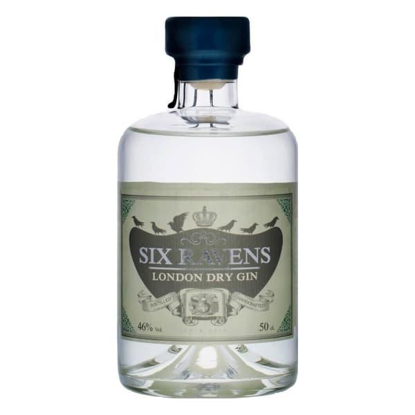Six Ravens London Dry Gin 50cl