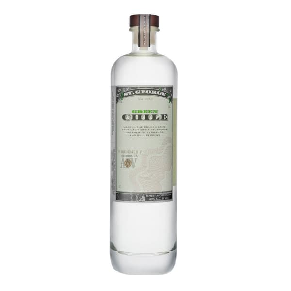 St.George Green Chile Vodka 75cl