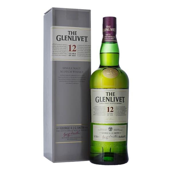 The Glenlivet 12 Years Single Malt Whisky 70cl