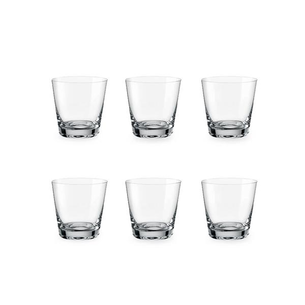Bohemia Crystal Glass Jive D.O.F. Whiskyglas 54cl, 6er-Set