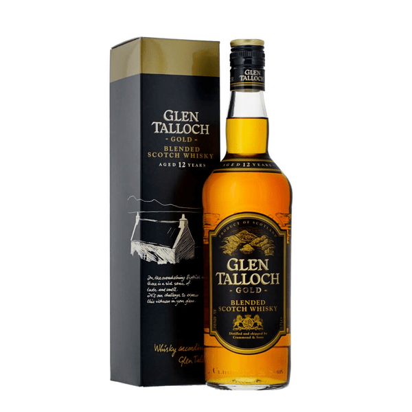 Glen Talloch 12 Years Gold Blended Scotch Whisky 70cl