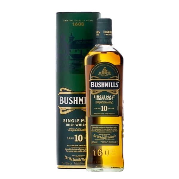 Bushmills 10 Years Single Malt Irish Whisky 70cl