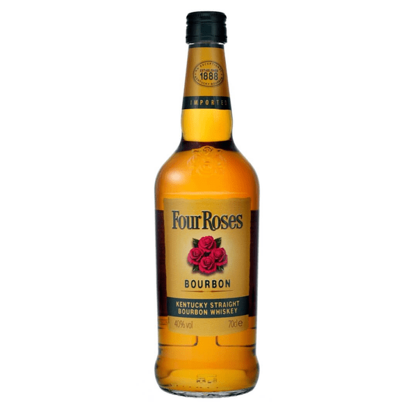 Four Roses Straight Bourbon Whiskey 70cl