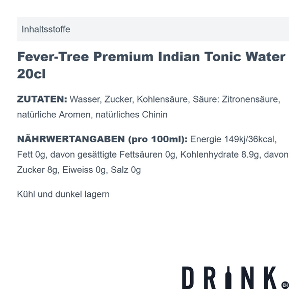 Tonic Water Probierset