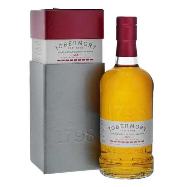 Tobermory 20 Years Old Single Malt Whisky 70cl