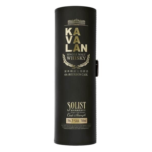 Kavalan Solist ex-Bourbon Cask Single Malt Whisky 70cl