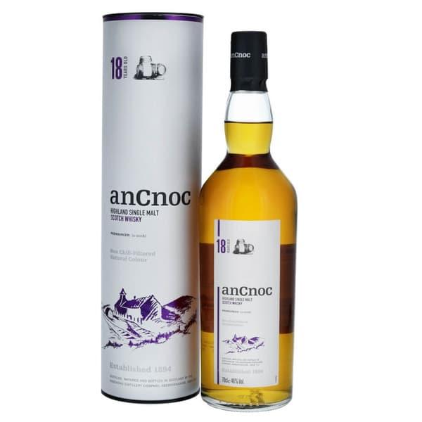 AnCnoc 18 Years Single Malt Whisky 70cl