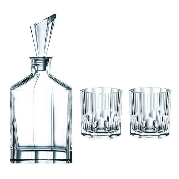Nachtmann Aspen Whisky-Dekanter-Set, dreiteilig