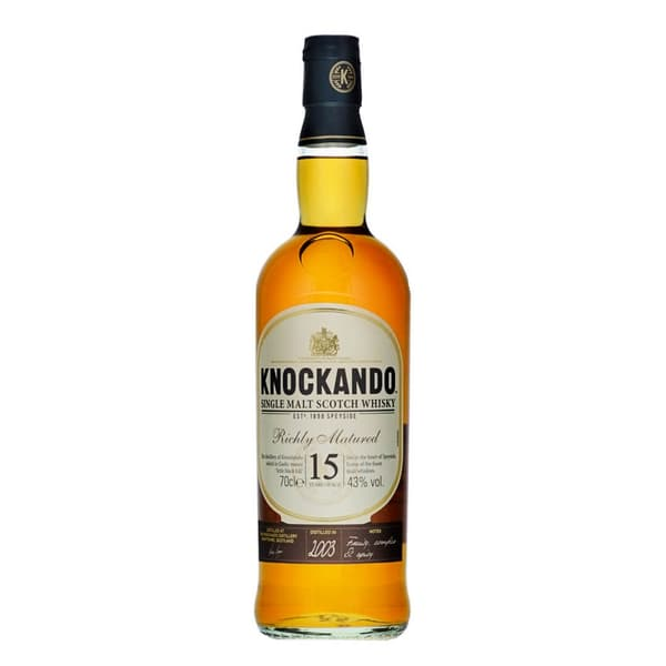 Knockando 15 Years Old Richly Matured Whisky 70cl