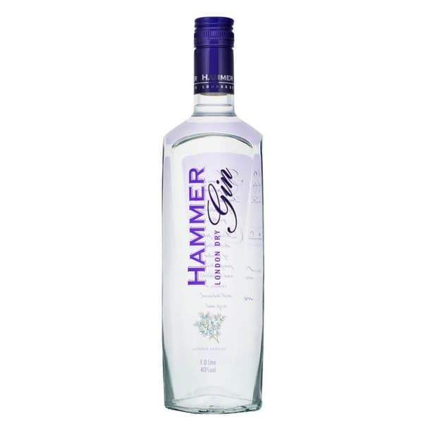 Hammer London Dry Gin 100cl