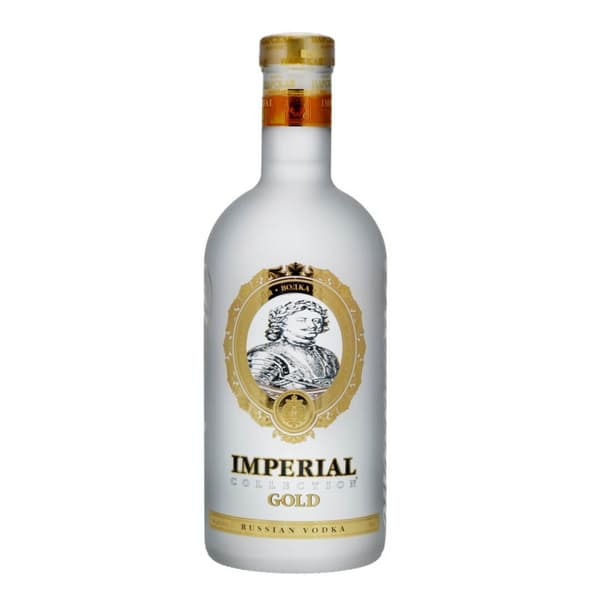 Imperial Collection Gold Vodka 70cl