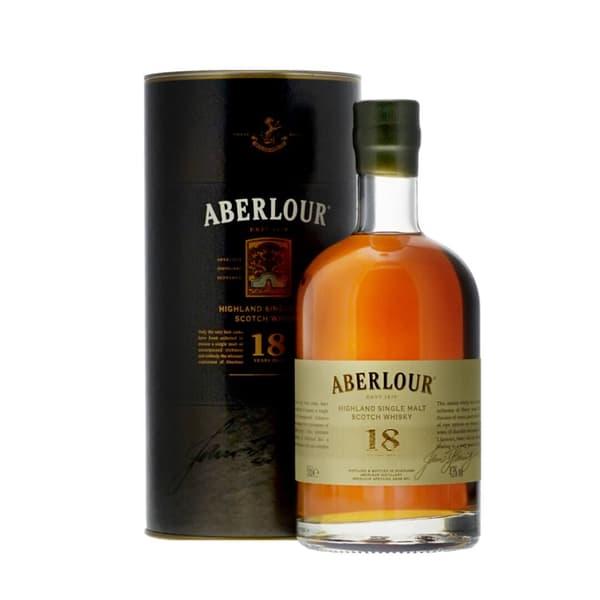 Aberlour 18 Years Single Malt Whisky 50cl
