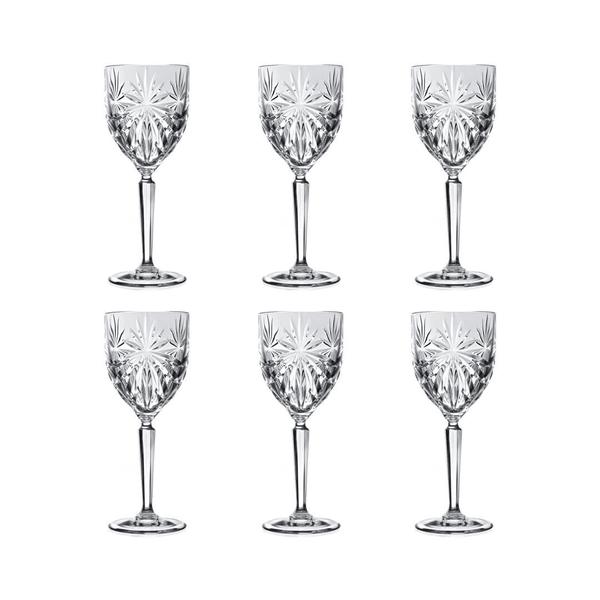 RCR Style Oasis Rotweinglas, 6er-Pack