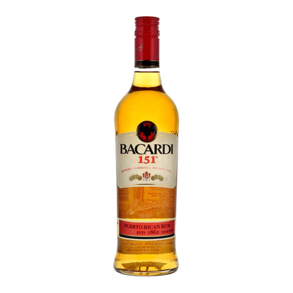 Bacardi 151 Proof Rum 70cl