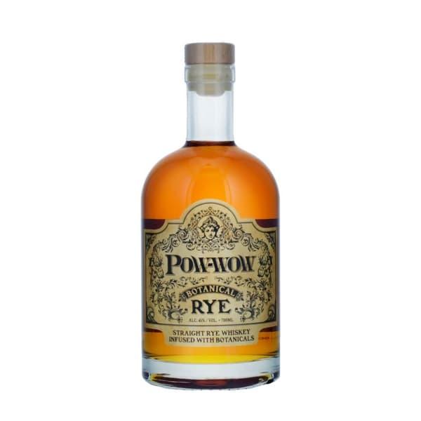 Pow Wow Botanical Rye Whisky 70cl