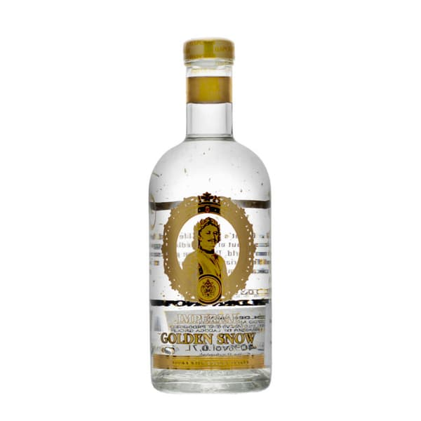 Imperial Collection Golden Snow Vodka 70cl