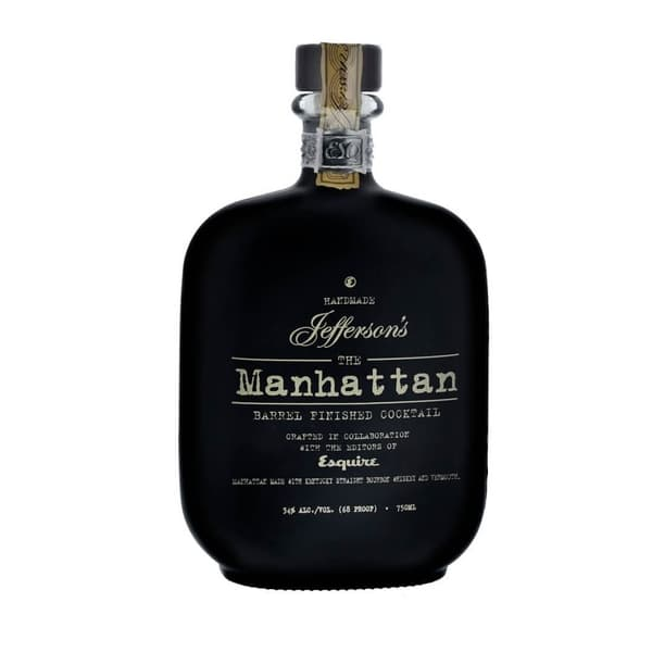 Jefferson's Manhattan Barrel Aged Cocktail Whiskey 75cl