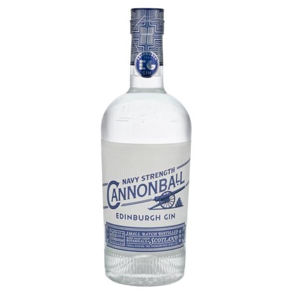 Edinburgh Cannonball Navy Strength Gin 70cl